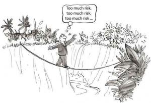Operational risk management cartoon